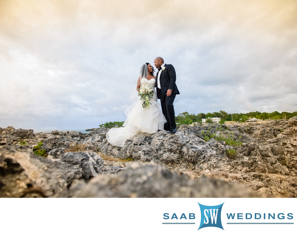 Rock House Resort Negril Jamaica wedding photo