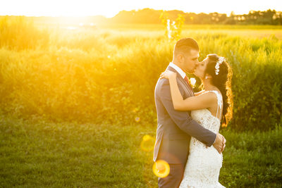 Big Sky Barn Wedding Photos