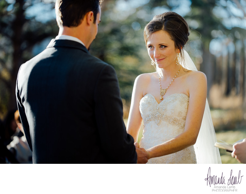 Spruce Mountain Wedding Ceremony