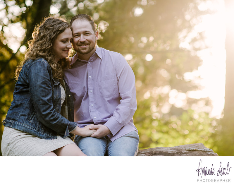 Engagement Session in Joaquin Miller Park, Oakland, CA