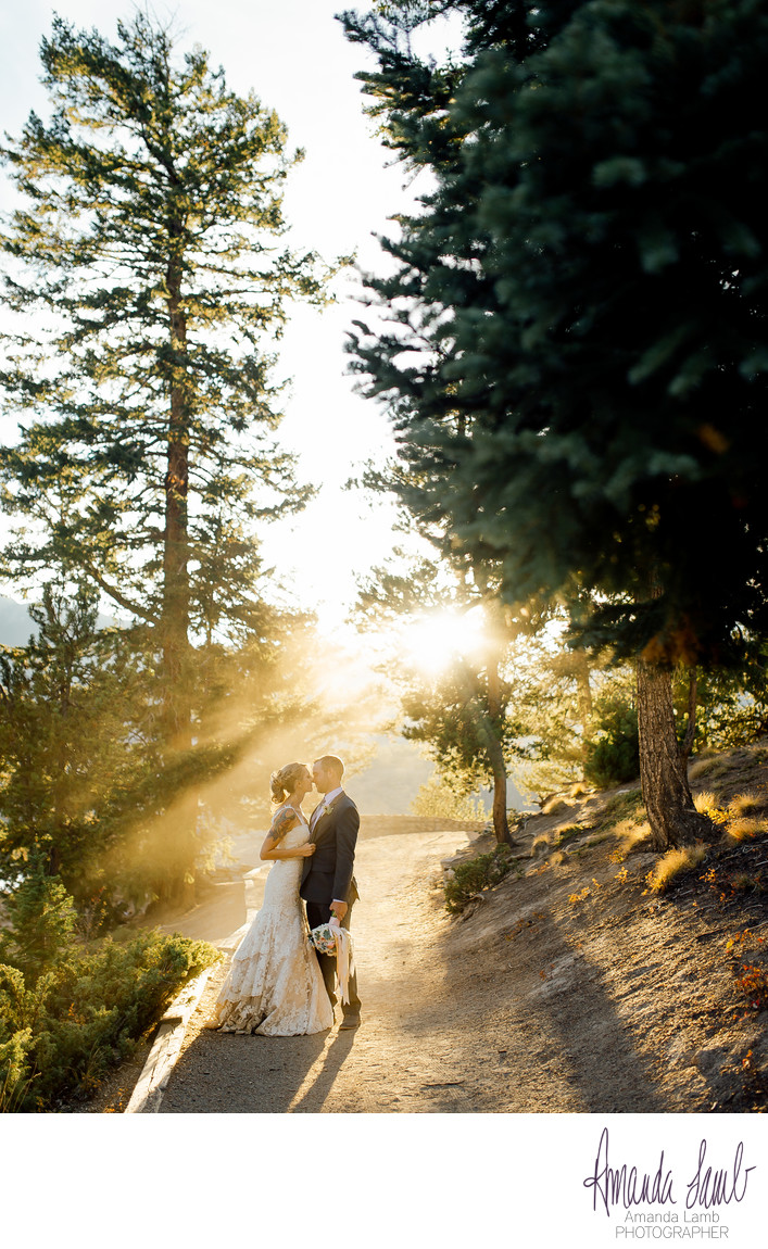 Sapphire Point Overlook Wedding