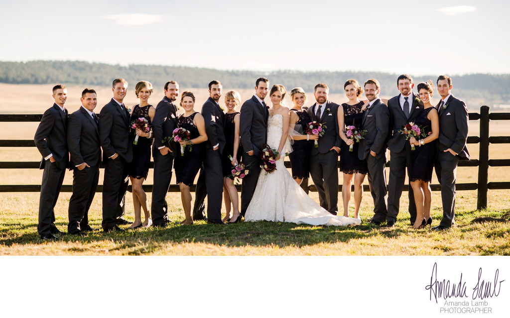 Spruce Mountain Ranch Bridal Party
