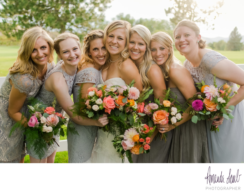 Bridesmaids at the Barn at Raccoon Creek