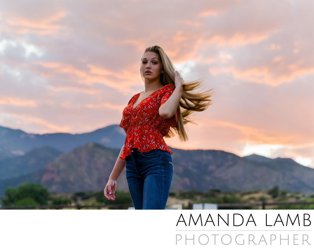 Colorado Springs Senior Photo Photographer