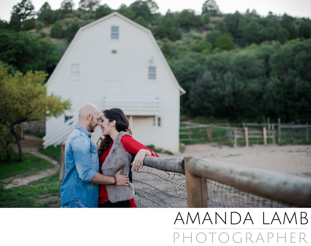 Rock Ledge Ranch Engagement Photographer