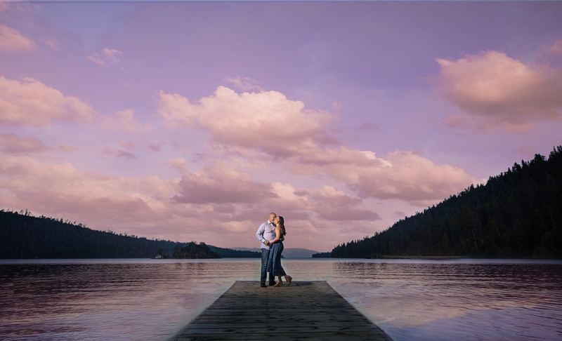 Lake Tahoe Emerald Bay Engagement Session