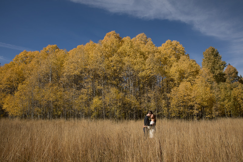 Fall Lake Tahoe Engagement session. Engagement photography