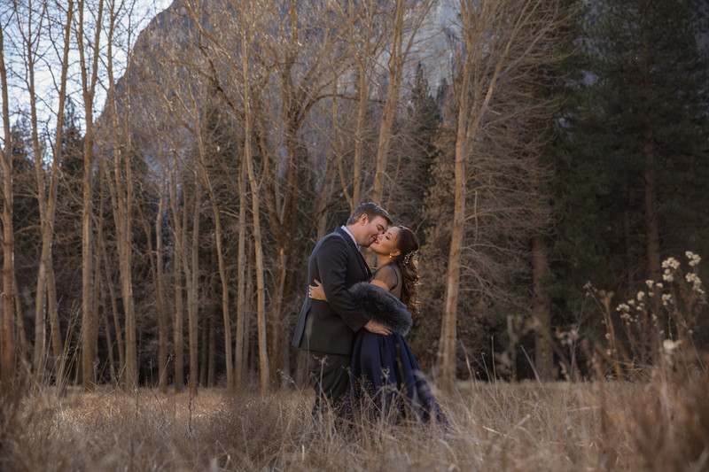 Outdoor Adventure Engagement Session In Yosemite