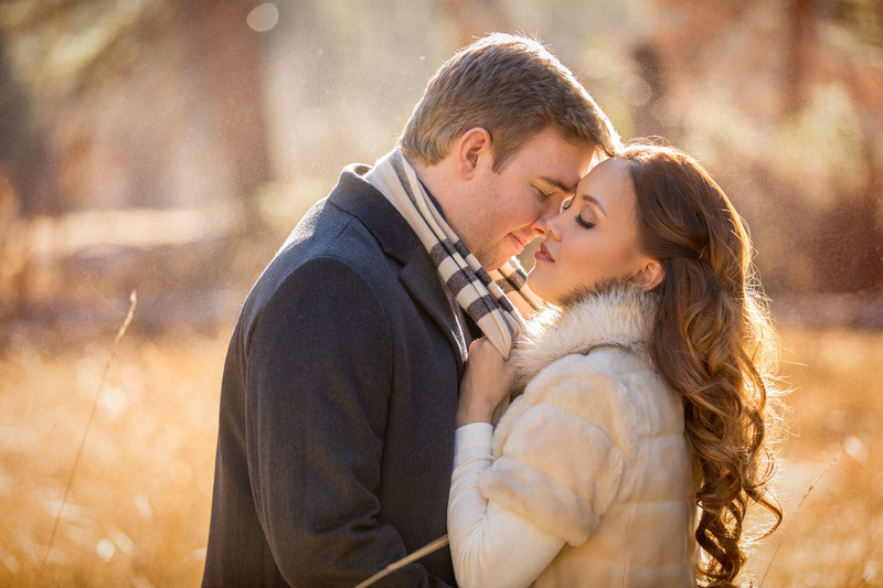 Romantic Yosemite Valley  Engagement session