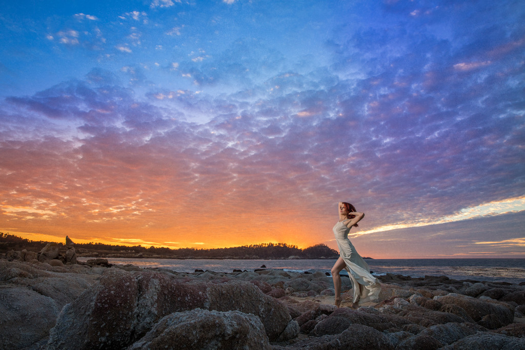 Best Carmel Wedding Photographer, Carmel Bride on Beach