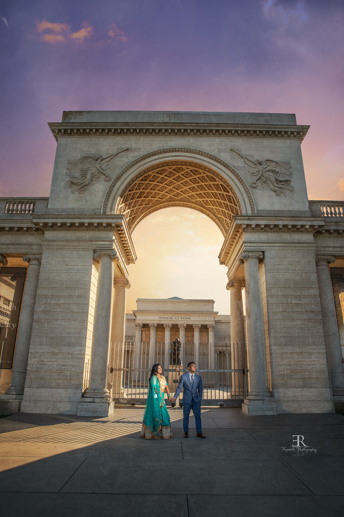 Legion of Honor San Francisco Engagement session
