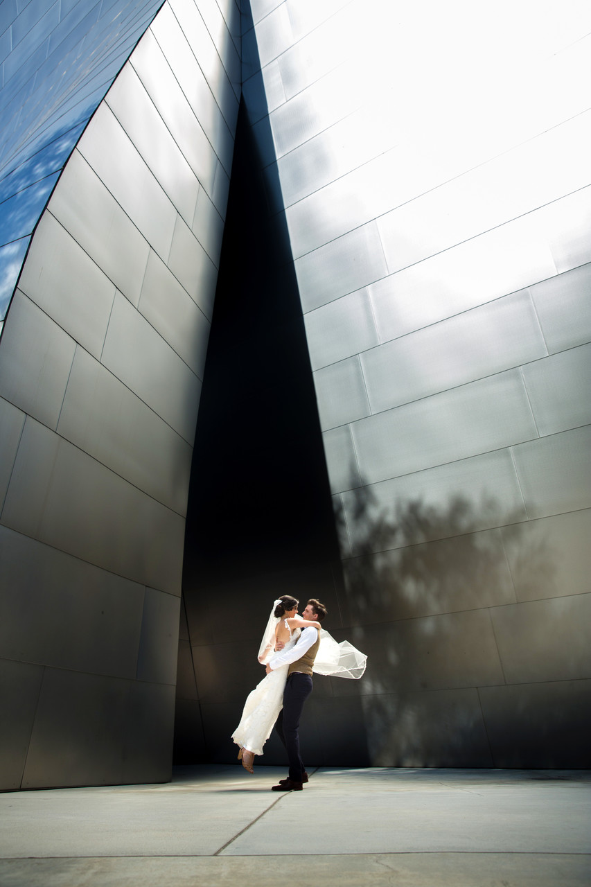 Walt Disney Concert Hall Engagement session