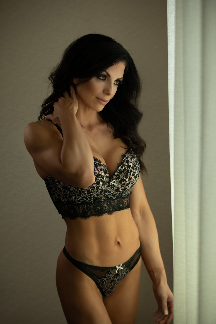 Bay Area fitness boudoir photographer
