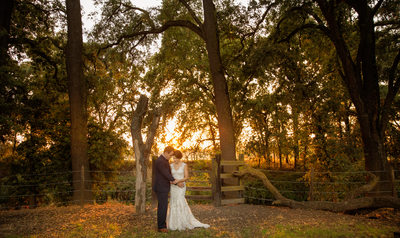 Laci and Kenny Anderson wedding photograph