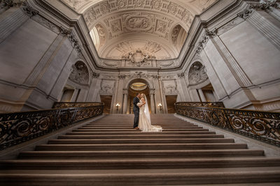 Best San Francisco City Hall wedding photographer elope