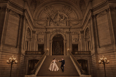 Wppi Silver Award Winner San Francisco City hall Wedding
