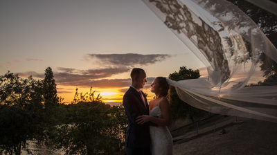 Rivermill Wedding Sunset Photo, Rivermill Weddings
