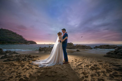 Las Caletas Wedding photos, Destination Wedding