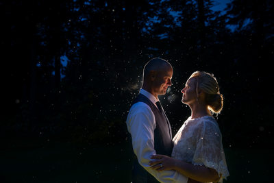 Skamania Lodge wedding in the Rain Stevenson Washington