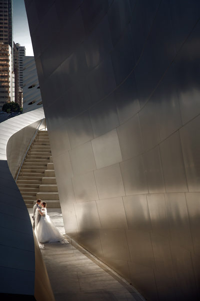 Los Angeles Wedding Disney Concert hall