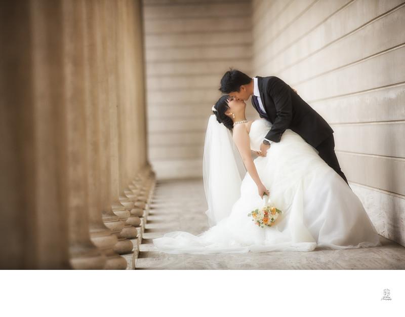 Pre Wedding Photoshoot Legion Of Honor San Francisco City Hall