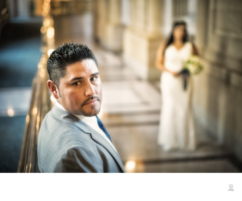 Groom at City Hall