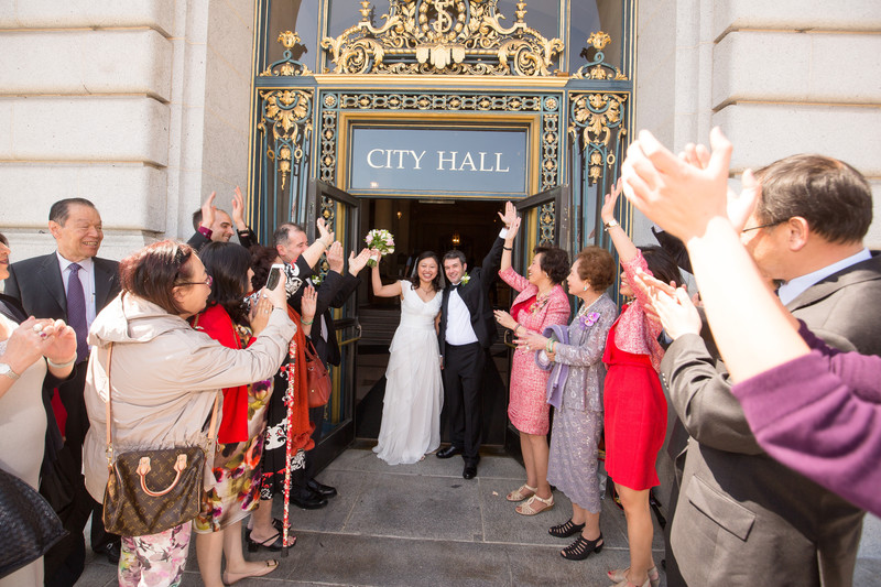 Just-Married-Traditional-Recessional-City-Hall