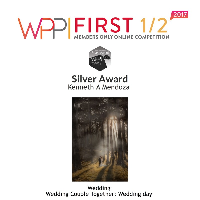 WPPI Silver Award 2017 Wedding Couple Together