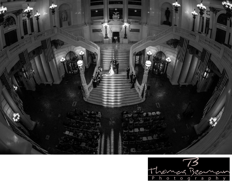 Best Harrisburg Capitol Wedding Photos