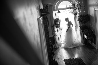 Bridal Portrait at Peter Allen House Wedding