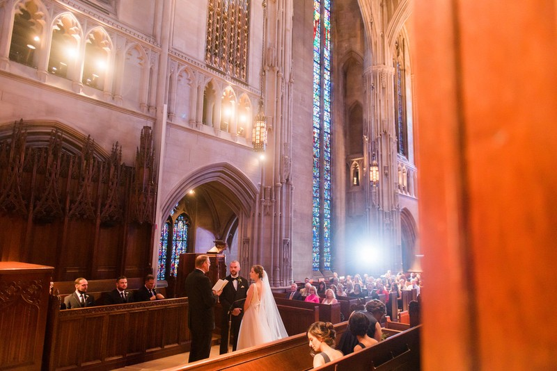wedding ceremony photography heinz memorial chapel