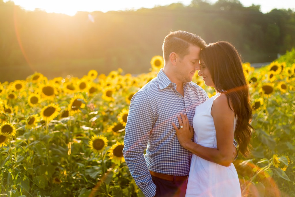 Mingo Creek Sunflower Field Engagement Picture