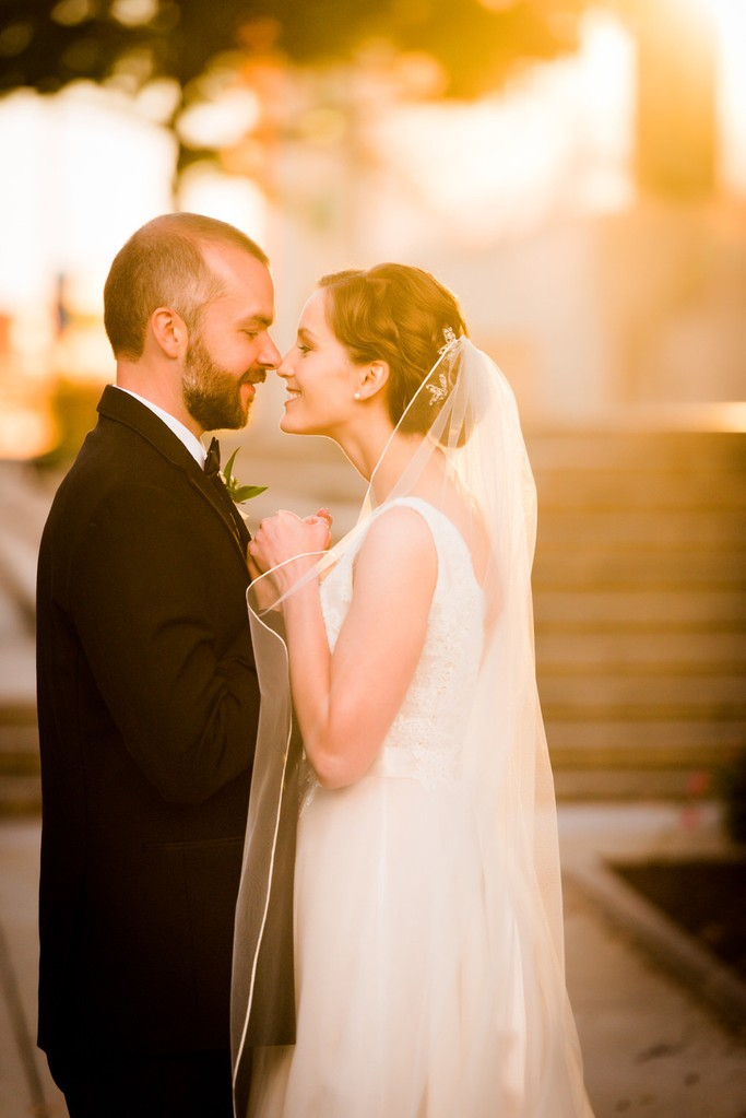 romantic wedding heinz chapel pittsburgh picture