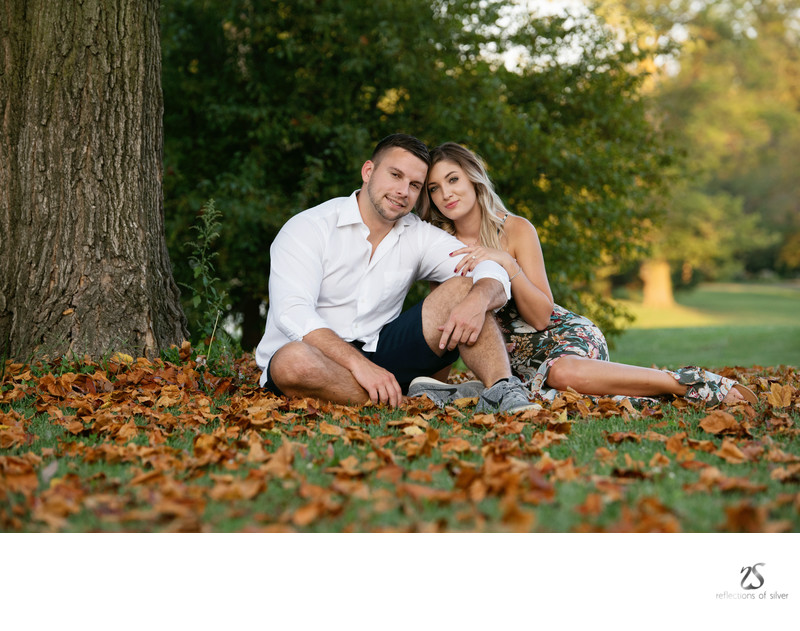 Fall Engagement Session Fort Wayne Photographer NE Ind
