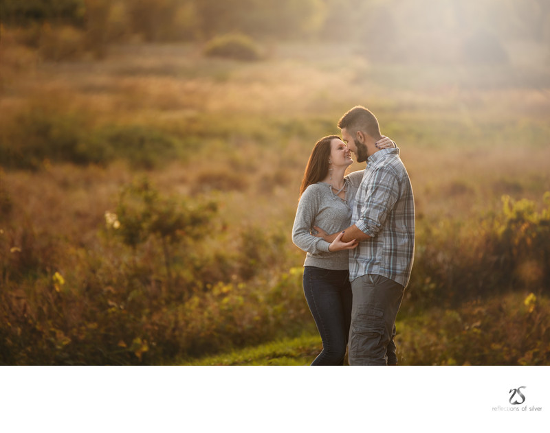 Gorgeous Engagement Session in the Fall Matea Park