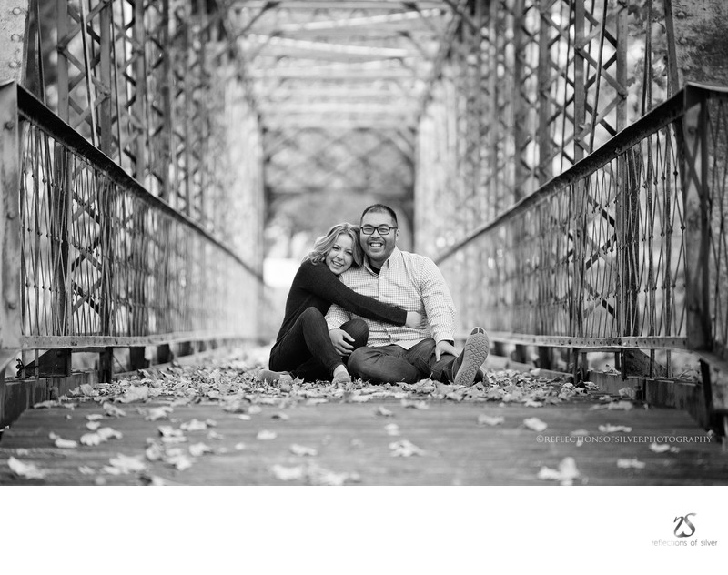 Engagement Photographers in Ft Wayne Swinney Park