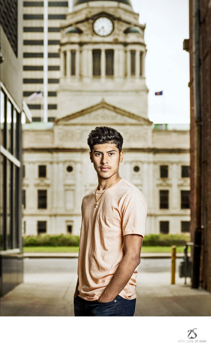 Wayne H.S. Senior Session Downtown Fort Wayne