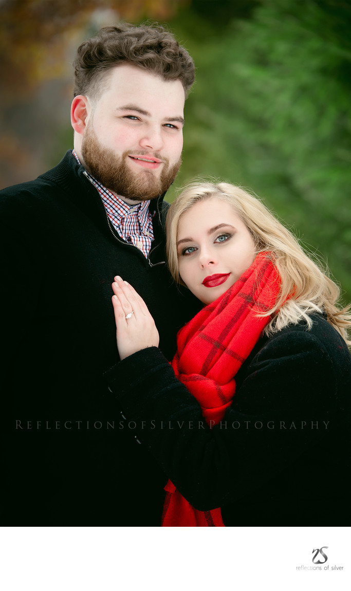 Indiana Winter Engagement Photos