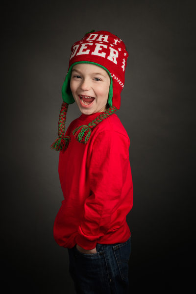 Christmas Portrait Fun