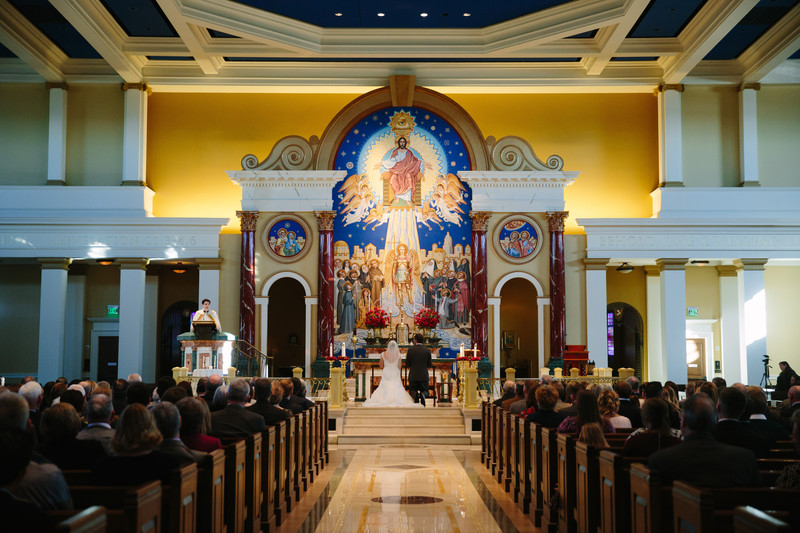 St. Michael the Archangel Kansas Wedding