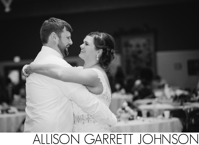 First Dance at Ag Pavilion Wedding