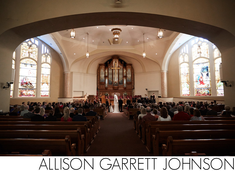 St. Paul United Methodist Lincoln Wedding Ceremony