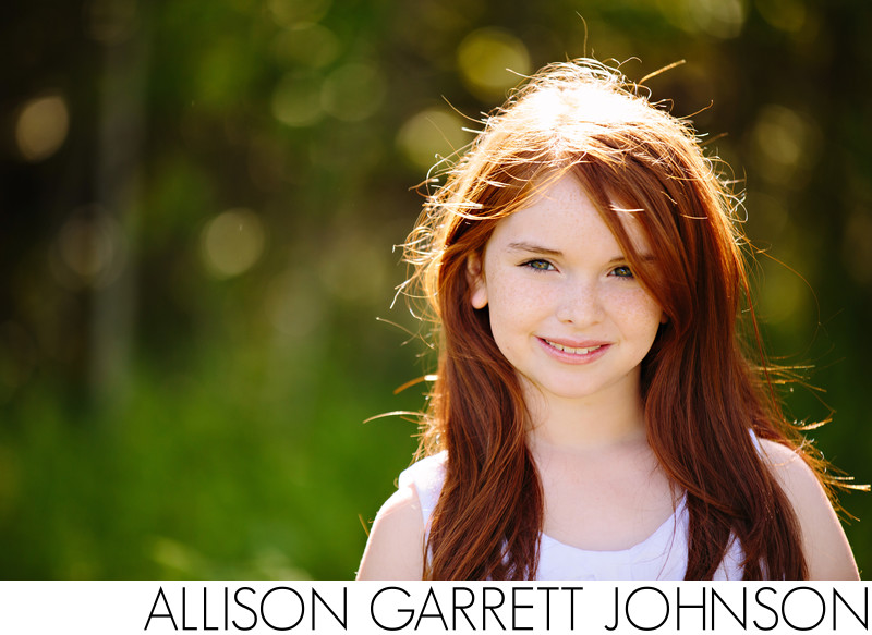 Beautiful Redhead Tween Photo