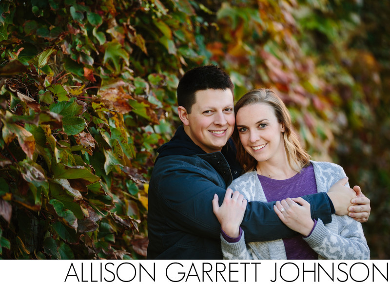 Downtown Kansas City Vine Wall Engagement Session