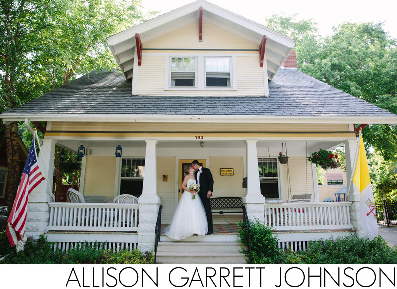 Wedding Photos at Childhood Home