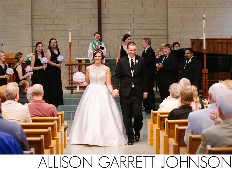 Our Savior's Lutheran Church Wedding Ceremony