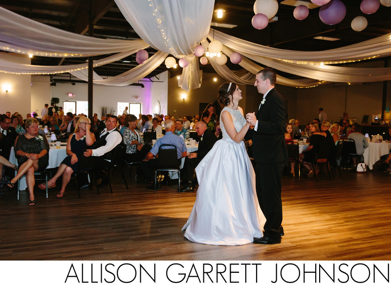 First Dance at The Gala Lincoln