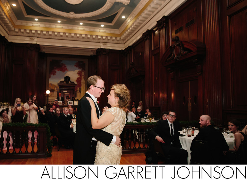 Grand Manse Grand Hall First Dance Wedding Photo