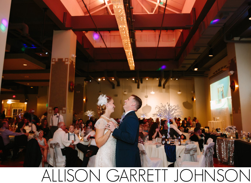 First Dance at the Grand Manse Jasmine Room