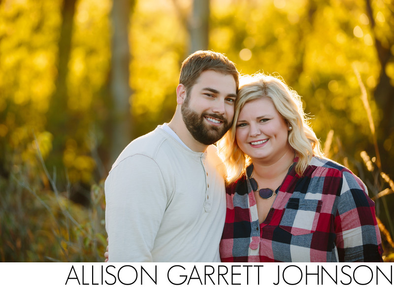 Lincoln NE Fall Engagement Shoot